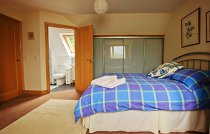 Side view of Blue Skye bedroom with ensuite